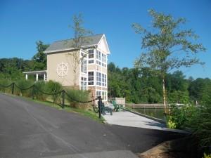 Hope Springs Marina clubhouse, Aquia Creek boatel