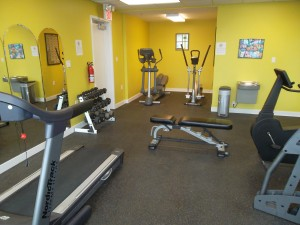 Fitness Center in Hope Springs Marina clubhouse